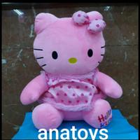 boneka hello kitty bahan yelvo besar pink