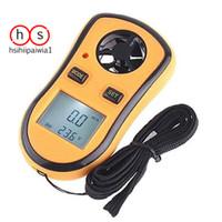 Anemometer Thermometer Lcd Digital Portabel Gm8908 Untuk Mengukur Kece