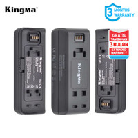 Baterai Kit KINGMA Insta 360 RB Action Camera 2-pack With Dual Charger