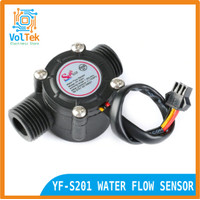 """YF-S201 WATER FLOW SENSOR ALIRAN AIR HALL 1/2"""" 1-30L/MIN 2.0MPA"""