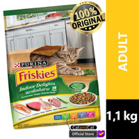 PURINA Friskies Friskies Indoor Delights Ukuran 1,1kg