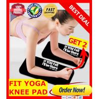 FIT YOGA Mat 6mm Knee Pad, Mini Mat Ekata Matras Yoga Lutut Lengan