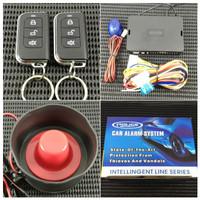 Alarm Premium Remot Remote Mobil 3 Tombol T207 Bunyi Tuk-Tuk Universal
