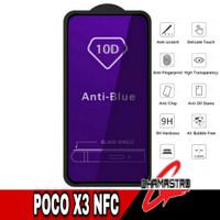 Anti Gores Poco X3 NFC Blue Light Full Tempered Glass