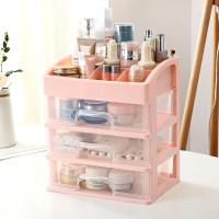 Angola Rak Kosmetik D18 Makeup Storage Box 3 Laci Kotak Organizer