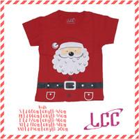 Kaos natal anak santa