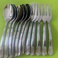 SET SENDOK GARPU PLASTIK ISI 12 / Alat Makan Siap Pakai - SOSOYO