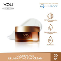 YOU Golden Age Illuminating Day Cream [SPF 30 ++] By Y.O.U Makeups Dor