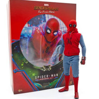 Hot Toys Spiderman Homemade Suit Far From Home MISB