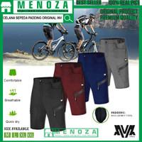 Celana Sepeda Padding Original INV Model Pendek - Hitam, M