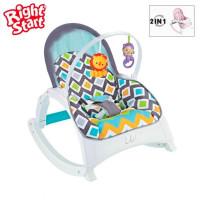Bouncer Right Starts Newborn To Toddler Portable Rocker
