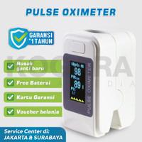 Oximeter Oxymeter Fingertip Pulse - Ukur heartrate kadar oksigen darah - Hanya Oximeter