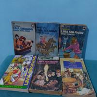 1 Paket Novel Lima Sekawan ( 6 Buku )
