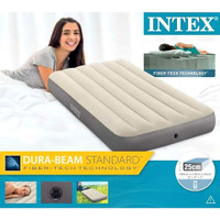 Kasur Angin Intex Durabeam Single Airbed Portable 191cm x 99cm x 25cm