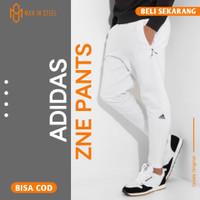 Celana Jogger Training Panjang Pria Adidas Zne White Grade Original - M