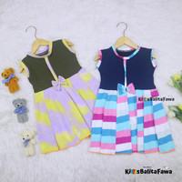 Dress Lala 3-4 tahun / Anak Perempuan Cewek Baju Dres Batik Murah - Warna Random