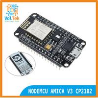 NODEMCU AMICA LUA WIFI V3 4MB 32MBITS FLASH ESP8266 ESP12 CP2102
