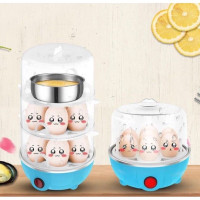 Alat Perebus Telur 3 Tingkat - Alat Pengkukus -Egg Boiler Electric