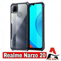 SOFTCASE REALME NARZO 20 PREMIUM SHOCKPROOF TRANSPARAN CASING