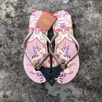 Baru! Havaianas Slim Batik Sandal Jepit Wanita, Size M (37/38), GOLD