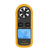 GM816 Digital Anemometer Wind-Speed Gauge Meter LCD Handheld Airflow