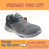 NO 40 PRO ATT WAL 4000 ABU-ABU PUTIH sepatu running casual sneaker