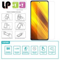 LP HD Tempered Glass Xiaomi Poco X3 NFC - Antigores Kaca Clear Bening