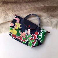Longchamp x Clo'e Floirat Dog Small Short Handle Tote Bag SSH - ORI