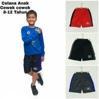 Fashion anak Celana pendek anak pria wanita 8-12 Tahun E6