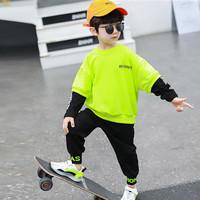 Setelan Anak Cowok Garments International Stabillo Green - SZ 90 2-3T