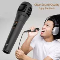 mikrofon RL kabel murah grosir mic microphone hm-138 switch on of new