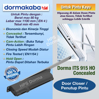 Door Closer Dorma ITS 915 EN4 HO ( Concealed )