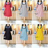 dress brukat bangkok murah