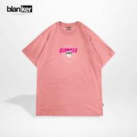 T-Shirt Blanker cat Snap - Pink - Merah Muda, S