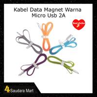 Kabel Data Micro Usb 2A Magnet 100cm Original