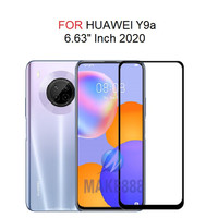 TEMPERED GLASS 5D HUAWEI Y9A FULL LEM ANTI GORES FULL COVER-BLACK