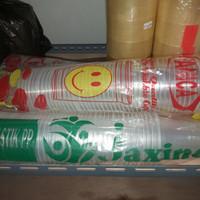 gelas pop ice plastik - 12