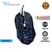Alcatroz Gaming Mouse X-Craft Classic Galaxy - Garansi 2 Tahun