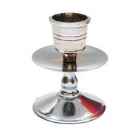 Tempat Lilin Ulir Kecil / Silver-Candle Holder