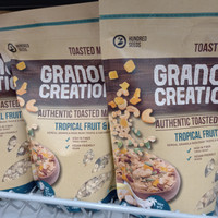 granola creation tropical fruit nuts 400gr