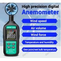 'In Stock' GN301 Digital Anemometer 0-30m/s Wind Speed Meter -10 ~ 45C