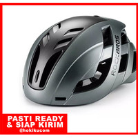 Helm Sepeda Rockbros Adjustable Road Bike Helmet Magnetic Cover TS-43