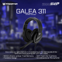 ACER Predator Galea 311 - Gaming Headset