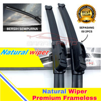 Wiper Karet Kaca Depan Honda Jazz RS Original TMC Premium Frameless