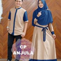 la baju couple gamis koko busana muslim fashion pria wanita