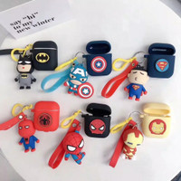 READY CASE WITH KEYCHAIN AirPods gen 1&2 / inPods 12 - Superheroes