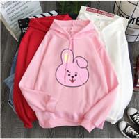 Baju Wanita Lengan Panjang Hoodie Sweater Anak BT21 COOKY BTS JUNGKOOK