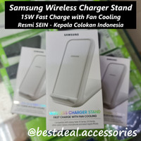 Samsung Wireless Charger Stand with Fan Cooling 15W Fast S20 Note 10