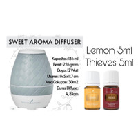 SWEET AROMA DIFFUSER YOUNG LIVING LEMON THIEVES OIL