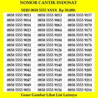 Nomor Cantik Indosat Ooredoo Nomer Kartu Perdana Im3